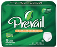 Prevail INCONTINENCE Protective Underwear Protective Briefs Liners, adult diapers, adult pull-ups